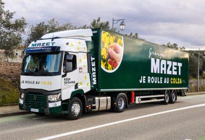 transport demi-lot, transport de marchandise, Groupe mazet